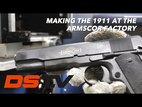 A Step by Step Process Of Making Guns At The Armscor Manufacturing Plant