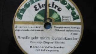 Homocord Orchester - Amalie geht mit