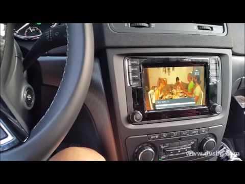 Video interface for VW Skoda Seat dvsbg