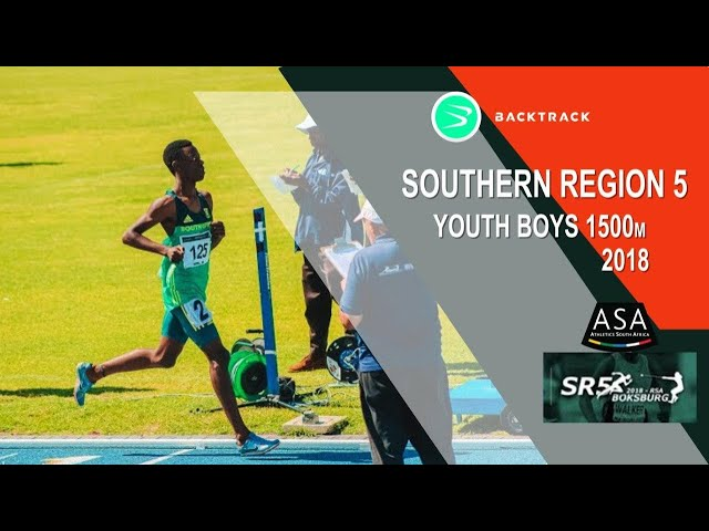 u18 Men 1500m with RSA double