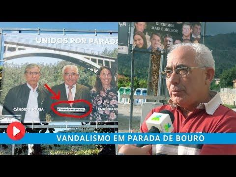 Vandalismo em Parada de Bouro