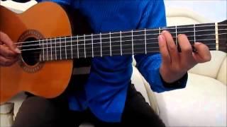 Belajar Kunci Gitar D