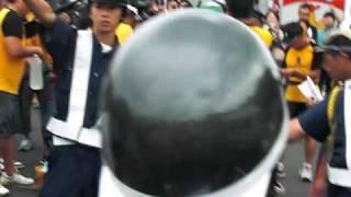 マラソン中のイモトアヤコさんを見た!