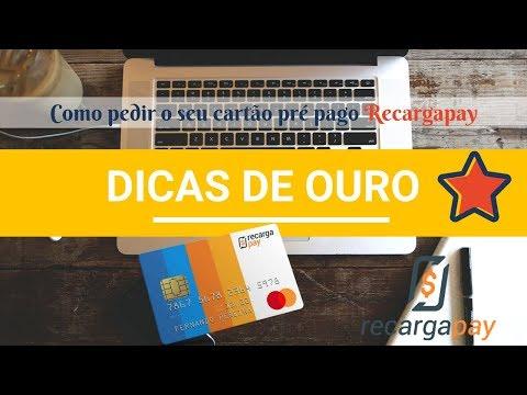 Cartão pré pago Recargapay