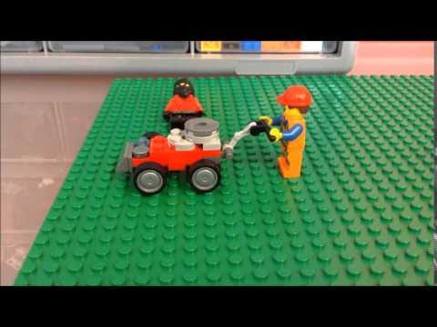 Como Hacer Una Podadora Lego- Lego Creations