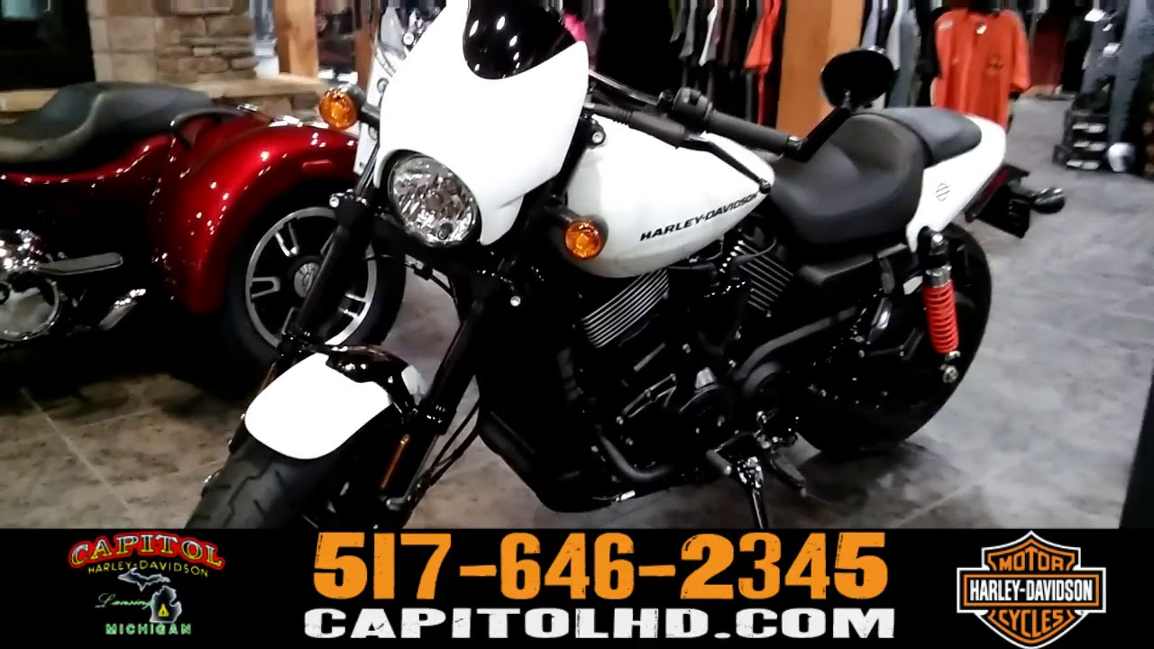 2017 Street Rod For Sale >> 2018 Harley Davidson Street Rod 750 White For Sale - YouTube