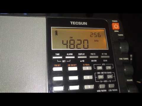 Birinchi Radio Kyrgyzstan 4820 kHz received in Romania