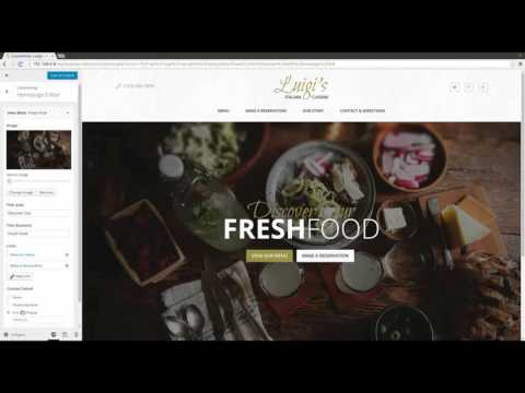 Luigi - Homepage Editor Demo