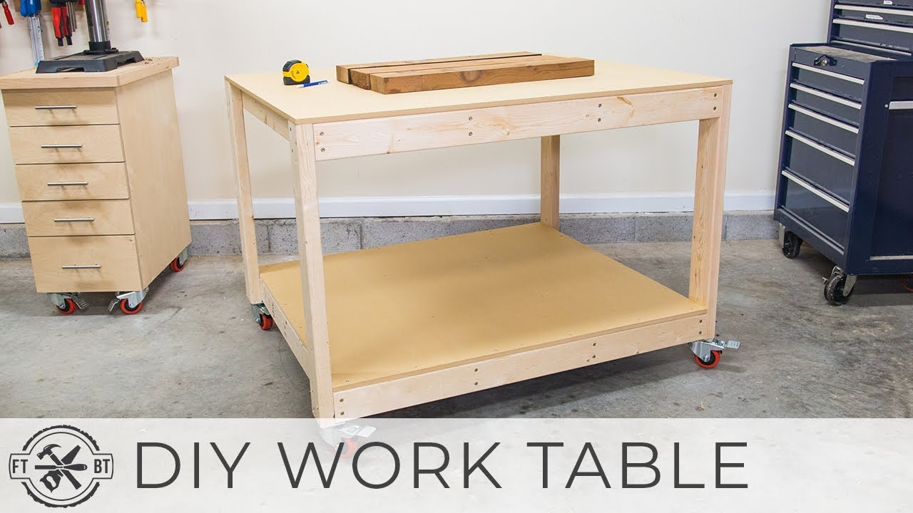 Download DIY Workbench / Work Table | How to Build