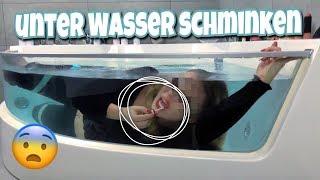 Ich schminke mich unter Wasser !! 😨💧 | BibisBeautyPalace