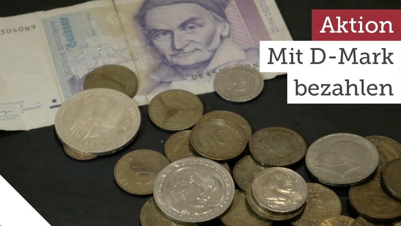 Wohin Mit Alten D Mark Münzen Und Scheinen Youtube