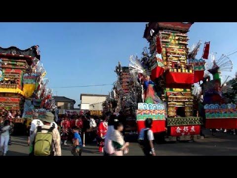 糸田祇園山笠女子(山笠ガール)2015 (福岡県糸田町) | FunnyCat.TV