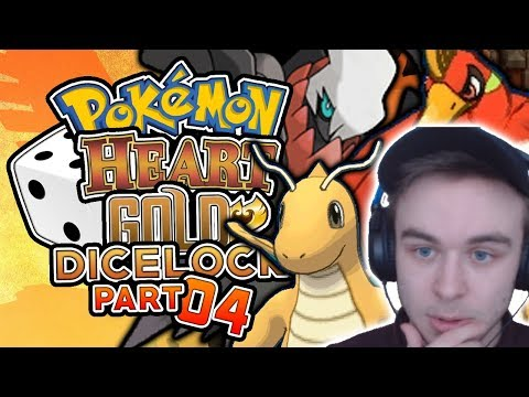 WE GET A DARKRAI AS OUR ENCOUNTER! DO WE CATCH IT? Pokemon Heart Gold Randomized Dicelocke Part 04