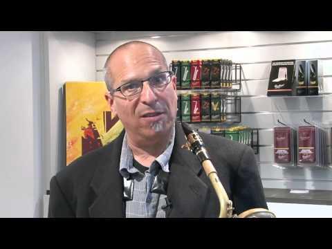 Gary Smulyan - Baritone sax. reed trial -