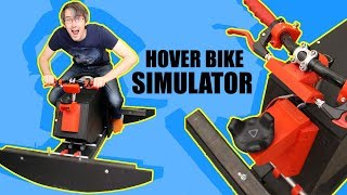 VR Hoverbike Simulator Game #2 | James Bruton