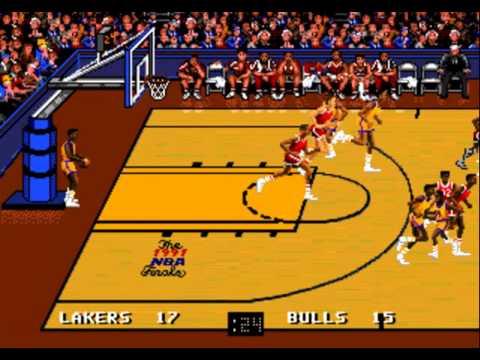 Bulls vs Lakers and the NBA Playoffs - Chicago Bulls vs Los Angeles Lakers (NBA Finals)