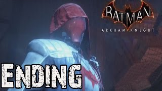 Batman Arkham Knight Red Hood Story Pack Ending Black Mask Boss Fight