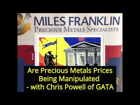 Are Precious Metals Prices Being Manipulated   with Chris Powell of GATA