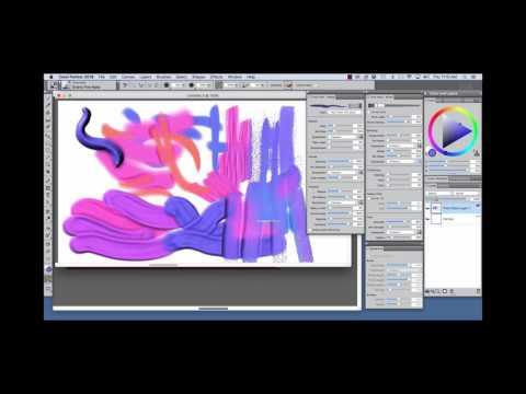 Corel Painter 2018 Digital Art Software NEW Thick Paint