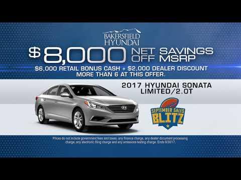 Bakersfield Hyundai   September Sales Blitz