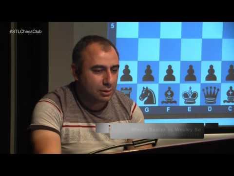 42nd Chess Olympiad: USA vs. Serbia - GM Varuzhan Akobian