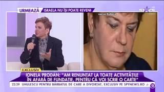 """Ionela Prodan, speriată de moartea Ilenei Ciuculete: """"Medicii mi-au spus că sunt extrem de obosită"""""""