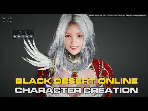 Black Desert Online (KR) - Valkyrie Class Character Creation ~ !