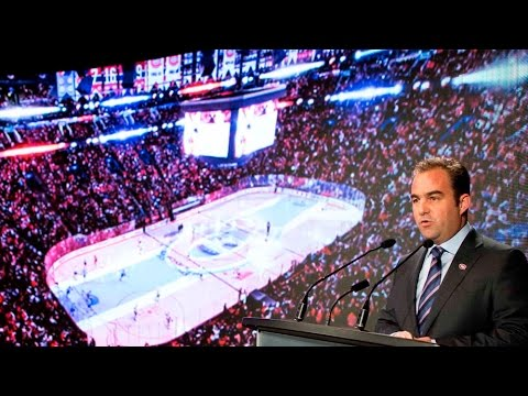 Geoff Molson outlines Bell Centre renovations