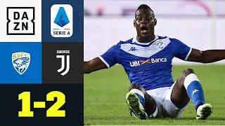Bei Balotelli-Debüt: Juve siegt gegen starke Gastgeber: Brescia - Juventus 1:2 | Serie A | DAZN
