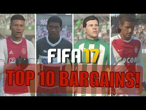 TOP 10 BARGAINS   FIFA 17 Career Mode