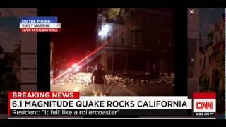 California Earthquake 6 1 mag Napa Valley Rocked Widespread Damage