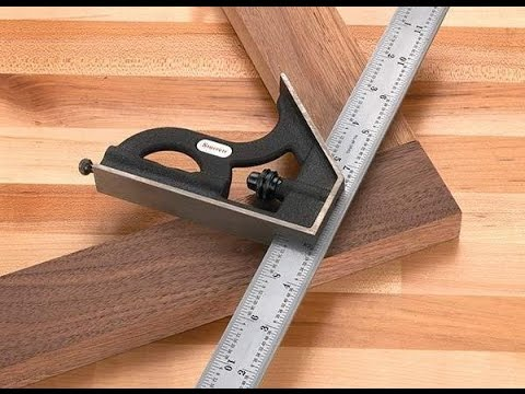 The Starrett Combination Square presented by Woodcraft
