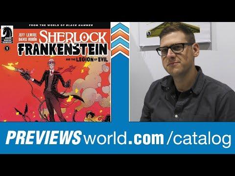 Jeff Lemire Expands Black Hammer With Sherlock Frankenstein