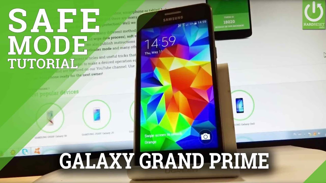 Safe Mode SAMSUNG G532F Galaxy Grand Prime Plus - HardReset info