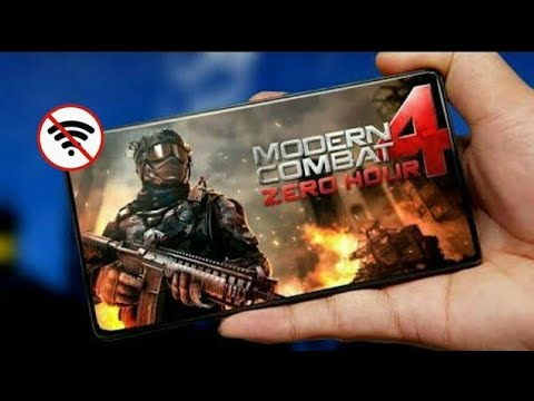 Modern Combat 4 Zero Hour Latest Mod Apk + OBB  Full Offline On Any Android Devices