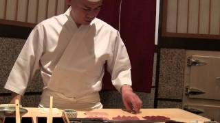Saito in Tokyo is one of the best sushi chefs in the world