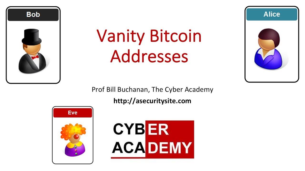 bitcoin vanity cím generátor