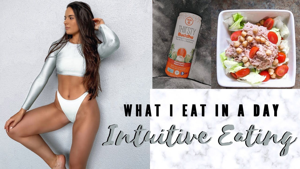 What I Eat In A Day || INTUITIVE EATING || loosing fat & maintaining muscle
