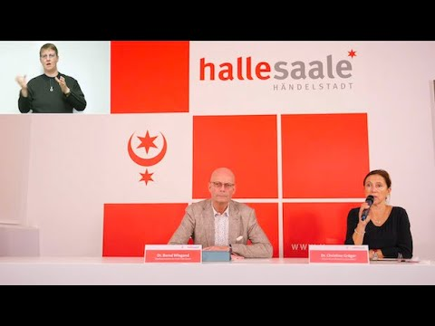 Halle (Saale): Video-Pressekonferenz vom 20. Oktober 2020