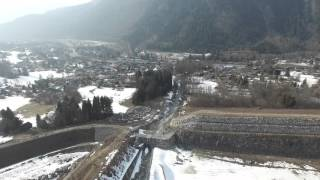 DJI Phantom 3 Pro Bossons Glacier Mont Blanc