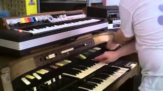 Instrumental tour - Hammond and organs