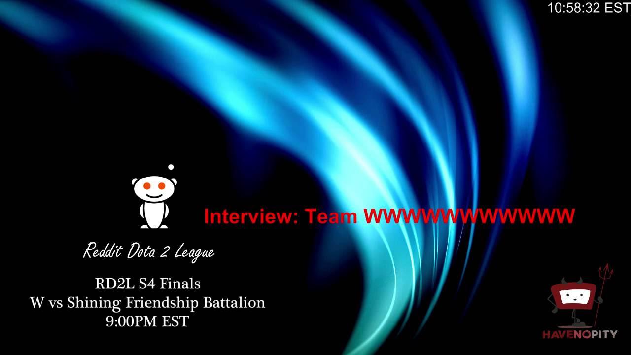 RD2L S4 Playoffs: JoN vs W Game 2 - YouTube Gaming