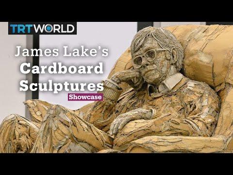 Cardboard Sculptures | Unusual Art Forms | Showcase