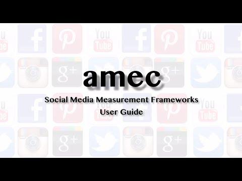 AMEC Social Media Measurement Framework