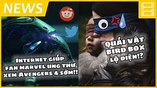 Phê Phim News: Phù thủy trong HARRY POTTER đi vệ sinh đứng?!! | Tạo hình quái vật BIRD BOX