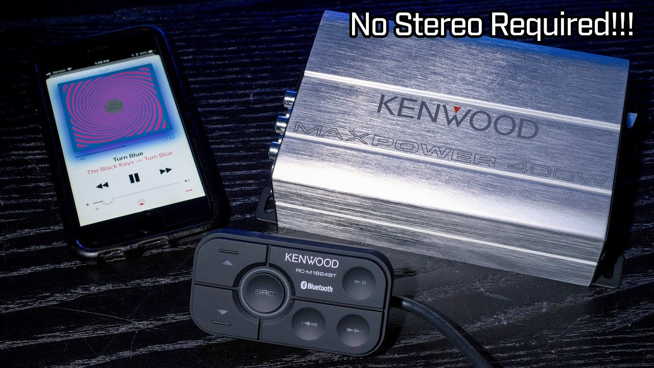 4 8452 Amplifier Channel Kac Kenwood Best Wallpaper Hd Kacps647 Pro Series Wiring Kit M1824bt Bluetooth No Stereo Required