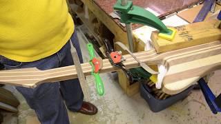 Custom Firebird Guitar Build Luthier Building Process Project