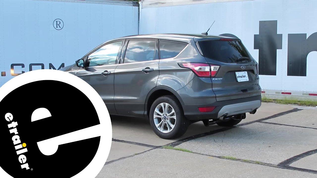 Install Trailer Hitch  Ford Escape  Etrailer Com