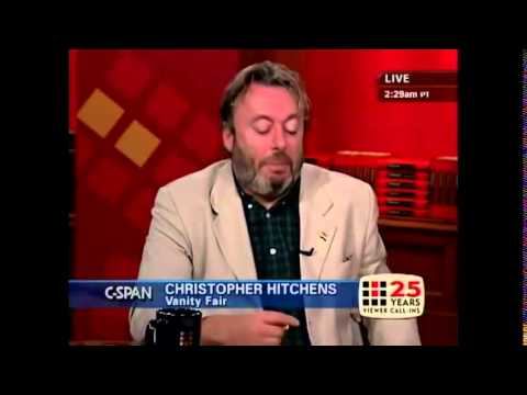 Christopher Hitchens on America's role in the World (2005)
