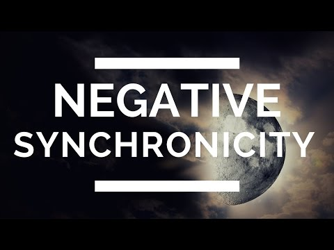 Synchronicity: (Are You Getting NEGATIVE Synchronicity?)